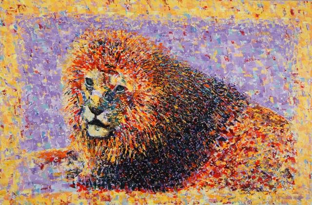 Malawi, oil on canvas, 30 X 20 (c) Kathleen Hall